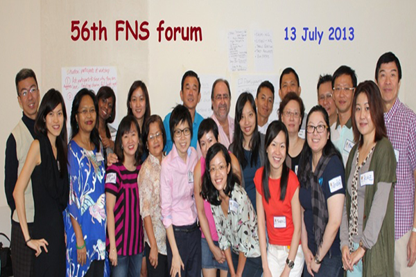 56th FNS Forum 13 July 2013, Singapore