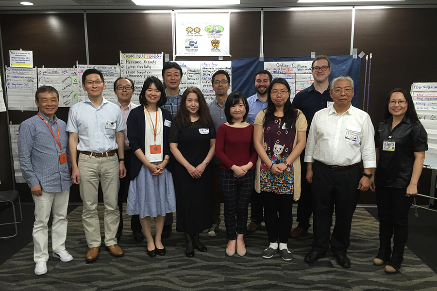 1st SPOT on Facilitation Workshop  23-25 June 2016 in Tokyo, Japan