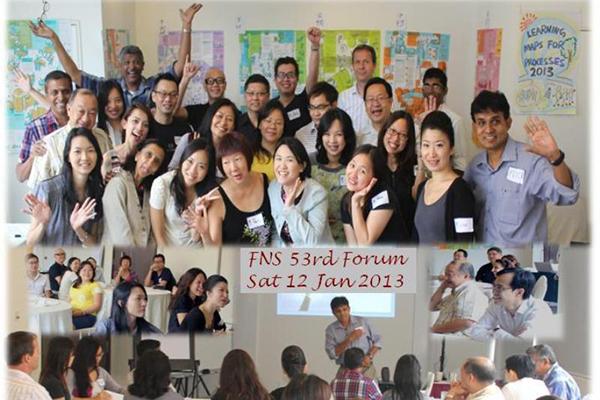 53rd FNS Forum 12 Jan 2013, Singapore
